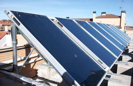 El constructor ama a su casa placas solares agua sanitaria - Placas solares agua caliente ...